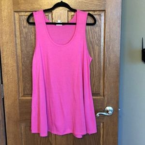 Lularoe Dark Pink Perfect Tank NWOT